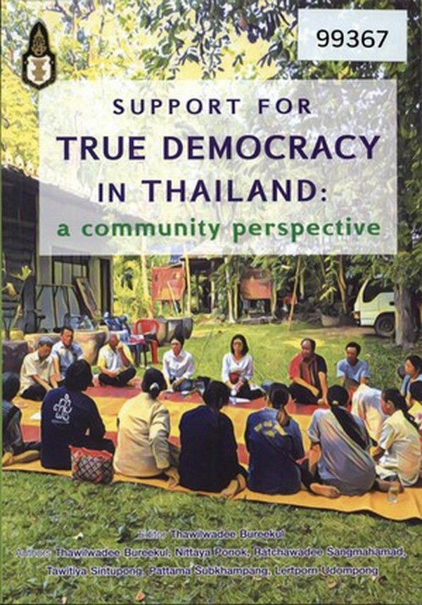 Support for True Democracy in Thailand: A Community Perspective