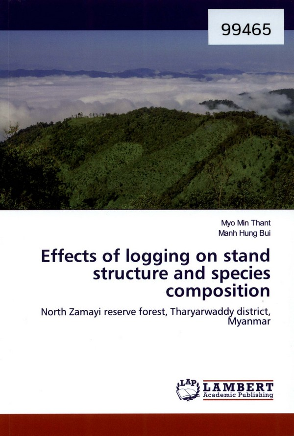 Effect of Logging on Stand Structure and Species Composition: North Zamayi Reserve Forest, Tharyarwaddy District, Myanmar