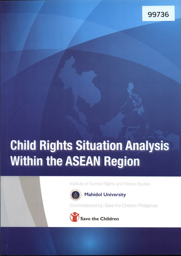 Child Rights Situation Analysis Within the ASEAN Region